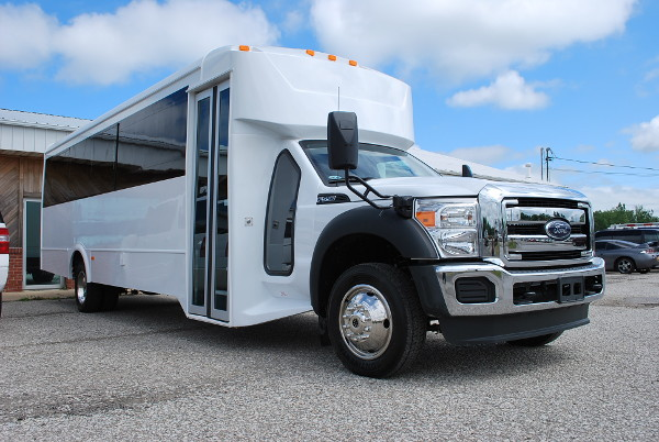 22 Passenger Party Bus Rental Dallas Texas